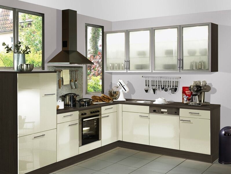 Different types of kitchen layouts openplanned for L shaped kitchen design