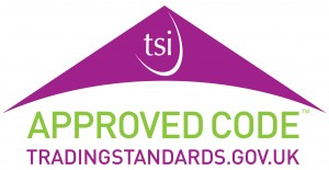 Look out for this logo for reputable tradesmen